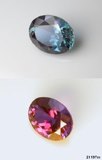 b654083c9a717 Alexandrite gemstones faceted from lab grown synthetic alexandrites ...
